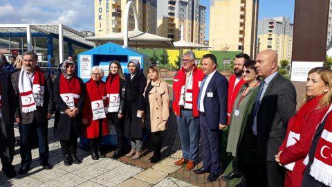 Emlak Yönetim'e bağlı sitelerden kan bağışı kampanyası