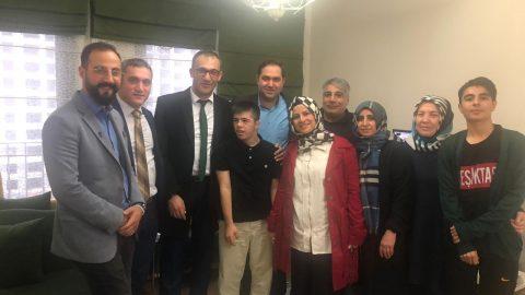 Emlak Yönetim'den engelli site sakinlerine ziyaret