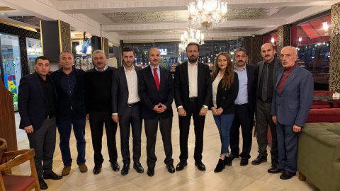 Emlak Yönetim Genel Müdürü Ayhan Karaca, Trabzon bölgesini ziyaret etti