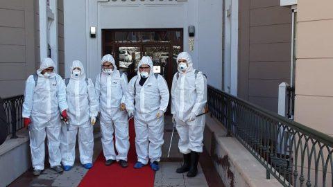 Sitelerimizde koronavirüs riskine karşı tedbirler alındı